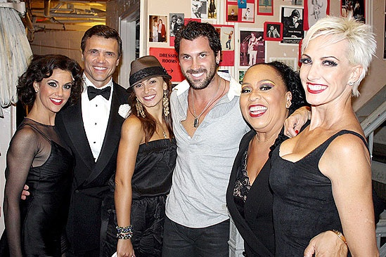Maks & Karina at Chicago - Maksim Chmerkovskiy - Samantha Harris - Amra-Faye Wright - Roz Ryan