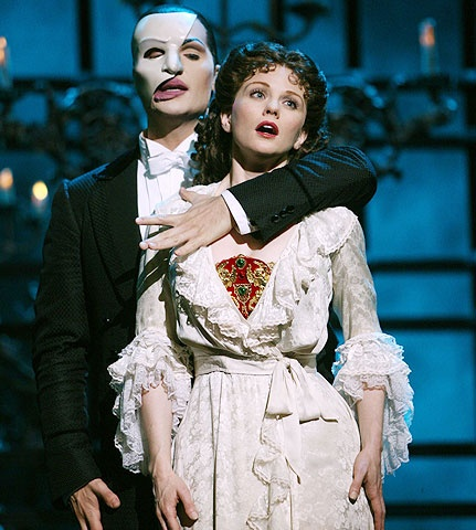 The Phantom of the Opera - Show Photo - John Cudia - Jennifer Hope Wills