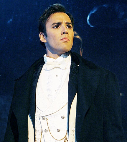The Phantom of the Opera - Show Photo - Ryan Silverman