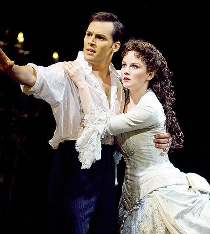 The Phantom of the Opera - Show Photo - Ryan Silverman - Jennifer Hope Wills