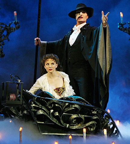The Phantom of the Opera - Show Photo - Jennifer Hope Wills - John Cudia