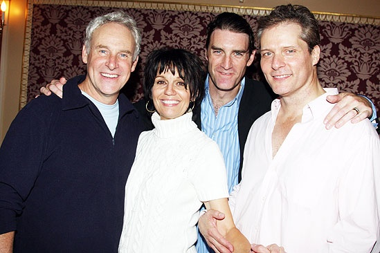 Beth Leavel debut in Mamma Mia  Beth Leavel  John Dossett  David Andrew MacDonald  Patrick Boll
