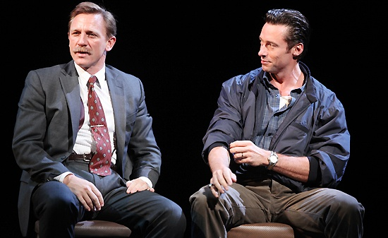 A Steady Rain Show Photos - 3 - Daniel Craig - Hugh Jackman