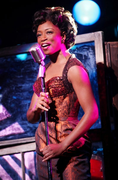 Show Photos - Memphis - Montego Glover (singing)