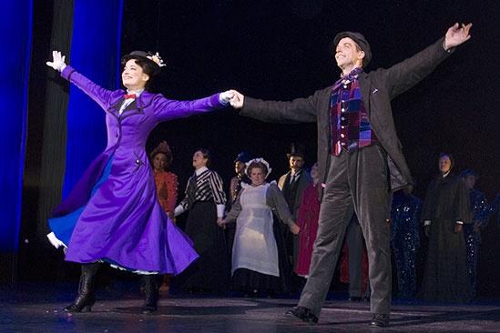 Mary Poppins New Cast 2009 – cc – Laura Michelle Kelly – Christian Borle