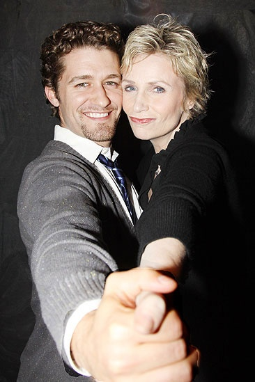 Matthew Morrison at Love, Loss - Matthew Morrison - Jane Lynch (dance)