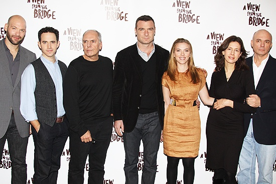 A View from the Bridge Event - Corey Stoll - Santino Fontana - Michael Cristofer - Liev Schreiber - Scarlett Johansson - Jessica Hecht - Gregory Mosher