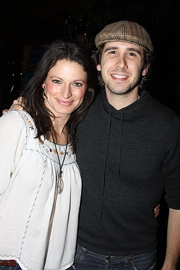 Josh Groban at Hair – Jackie Burns – Josh Groban