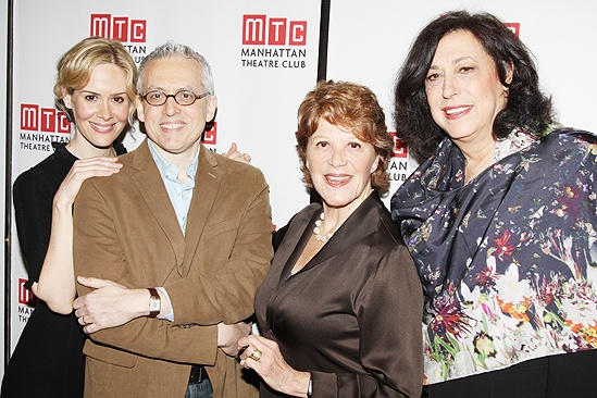 Collected Stories Meet and Greet – Sarah Paulson – Donald Margulies – Linda Lavin – Lynne Meadow
