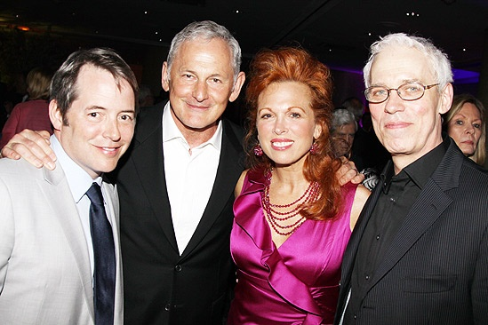 The Addams Family opening – Matthew Broderick – Victor Garber – Carolee Carmello – Terrence Mann