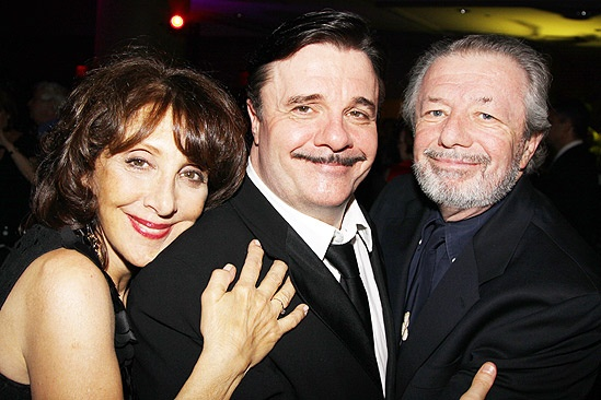 The Addams Family opening – Andrea Martin – Nathan Lane – brother Daniel Lane