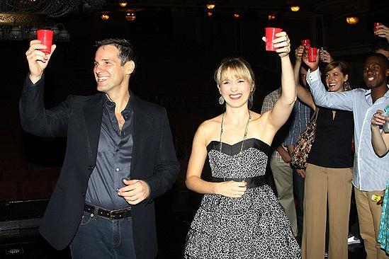 Hugh Panaro Returns to Phantom – Hugh Panaro – Sara Jean Ford (toast)