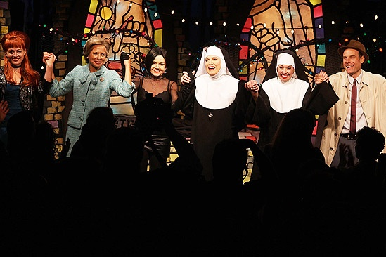 Divine Sister Opening – curtain call