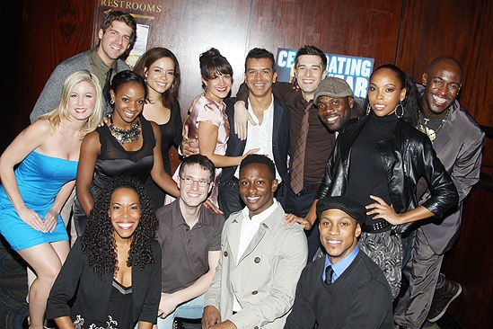 Memphis First Anniversary on Broadway – ensemble