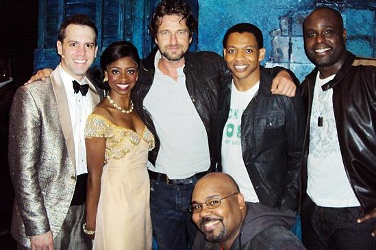 Gerard Butler at Memphis – Brad Bass – Montego Glover – Gerard Butler – James Monroe Iglehart – Derrick Baskin – J. Bernard Calloway