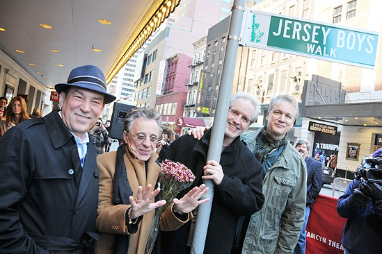 Jersey Boys Fifth Anniversary – Des McAnuff – Frankie Valli – Bob Gaudio – Rick Elice