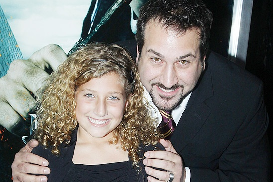 Harry Potter 7 – Joey Fatone – daughter Brianna