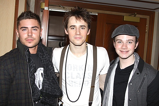Spiderman Efron –Zac Efron – Reeve Carney - Chris Colfer -