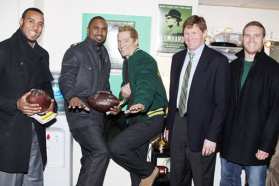 Lombardi Real Packers  Ryan Grant  Charles Woodson  Bill Dawes