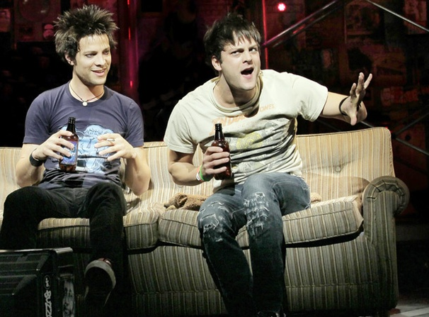 Show Photos - American Idiot - Justin Guarini - Van Hughes