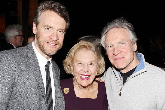 Good People Opening Night – Tate Donovan – mom – brother