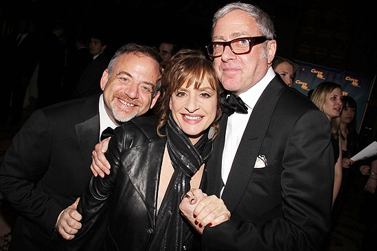 Catch Me If You Can Opening Night – Marc Shaiman – Patti LuPone – Scott Wittman