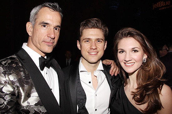 Catch Me If You Can Opening Night  Jerry Mitchell  Aaron Tveit  Summer Strallen