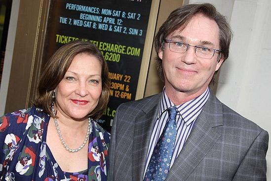 Richard Thomas   wife Richard Thomas Wife