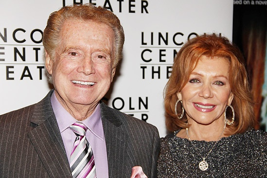 War Horse Opening Night – Regis Philbin – Joy Philbin