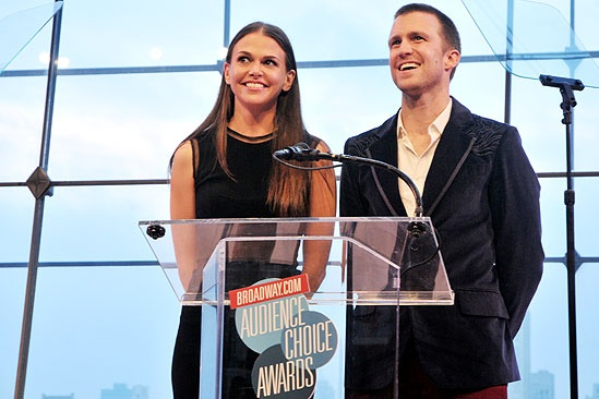 2011 Audience Choice Awards Ceremony – Sutton Foster – Gavin Creel