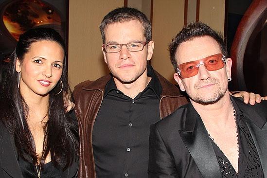 Spider-Man opening – Luciana- Matt Damon – Bono