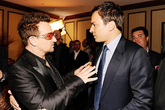 Spider-Man opening – Bono – Jimmy Fallon