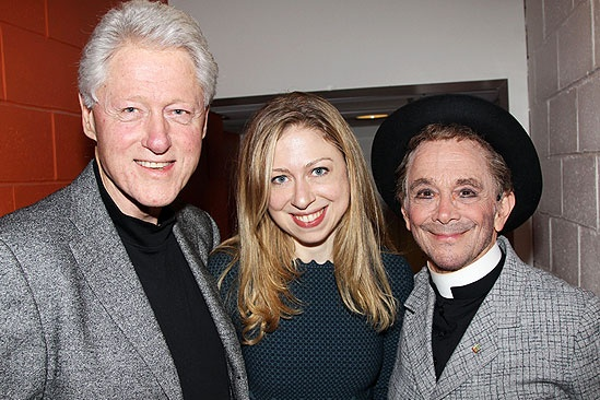 Anything Goes – Bill Clinton Visit – Bill Clinton – Chelsea Clinton – Joel Grey