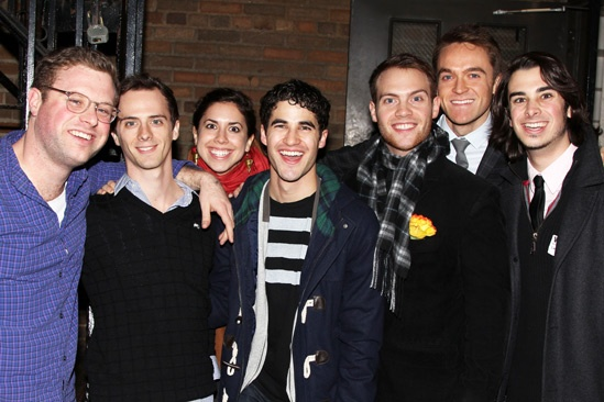 How to Succeed  Team StarKid Visit  Dylan Saunders  Brian Holden  Meredith Stepien  Darren Criss  Joseph Walker  Brant Cox  Joey Richter