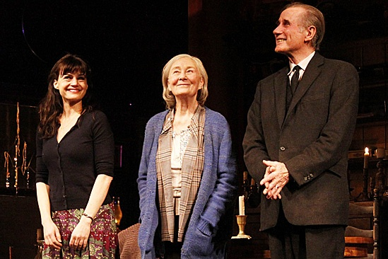 The Road to Mecca – Opening Night – Carla Gugino – Rosemary Harris – Jim Dale