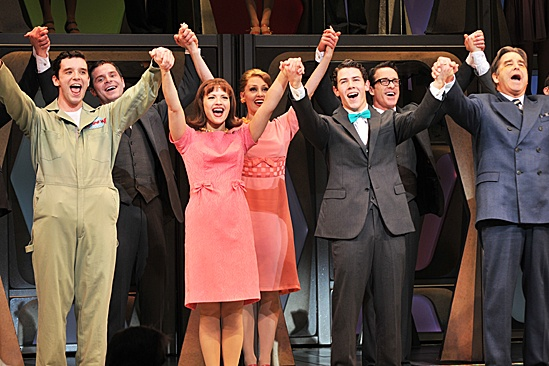 How to Succeed – Nick Jonas Opening – cast