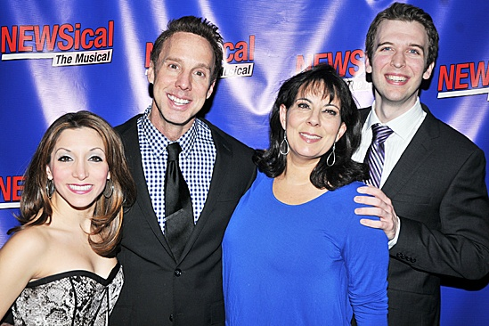 Newsical - Michael West, Christina Bianco, Christine Pedi, and John Walton West