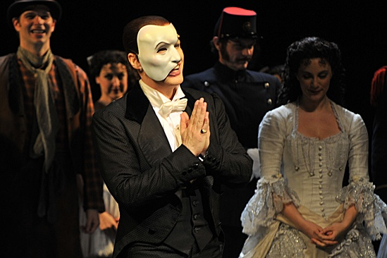 Phantom of the Opera  10,000 Performance  cast - Hugh Panaro  Trista Moldovan