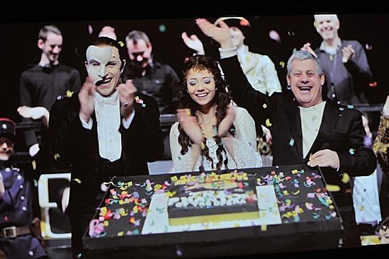 Phantom of the Opera – 10,000 Performance – Earl Carpenter – Sofia Escobar – Cameron Mackintosh