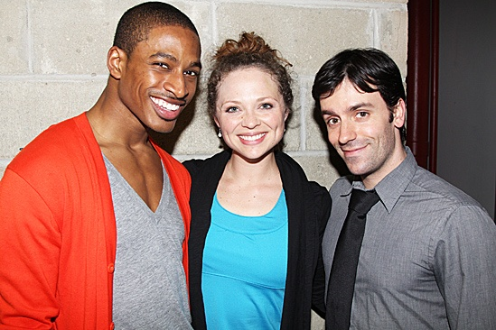 Nice Work If You Can Get It – Rehearsal – Robert Hartwell – Kristen Beth Williams – Clyde Alves