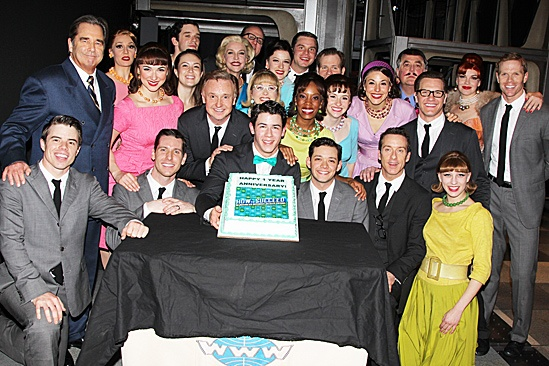 How to Succeed  One Year Anniversary  cast