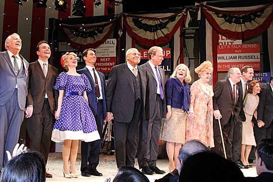 The Best Man – Opening Night – Dakin Matthews – Jefferson Mays – Kerry Butler – Eric McCormack – James Earl Jones – John Larroquette – Candice Bergen – Angela Lansbury – Michael McKean – Corey Brill – Donna Hanover