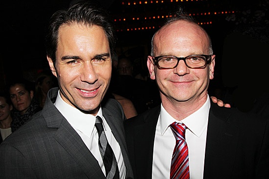 The Best Man  Opening Night  Eric McCormack  Michael Wilson