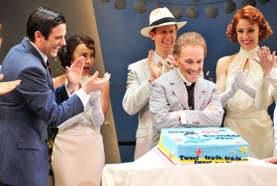 Anything Goes – Joel Grey Birthday – cast – Joel Grey