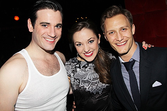 Anything Goes - Joel Grey Sleep No More Birthday – Colin Donnell – Laura Osnes – Nathan Johnson