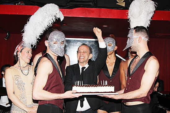 Anything Goes - Joel Grey Sleep No More Birthday – masked men - Joel Grey