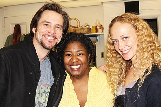 Jim Carrey at Porgy and Bess – Jim Carrey – Anastasia Vitkina – NaTasha Yvette Williams
