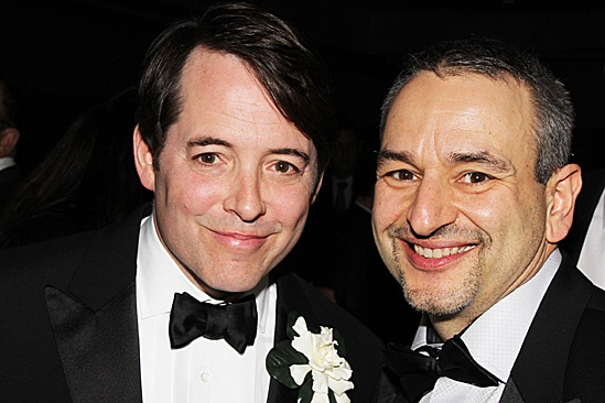 Nice Work If You Can Get It  Opening Night  Matthew Broderick  Joe DiPietro