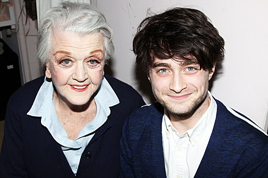 The Best Man – Daniel Radcliffe Visit – Angela Lansbury – Daniel Radcliffe