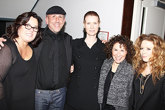 2012 New Group Benefit – Women Behind Bars Reading – Rosie O'Donnell – Scott Elliott – Cynthia Nixon – Rhea Perlman – Natasha Lyonne